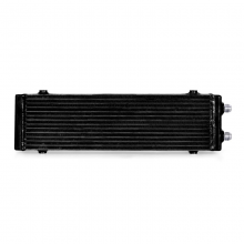 Universal Dual Pass Bar & Plate Oil Cooler, Large